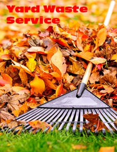 Yard waste services